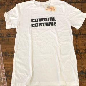 NWT Original Cowgirl Company Cowgirl Costume Tee